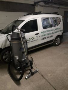 Почистване на подземни паркинги и гаражи