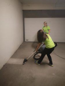 Почистване на подземни гаражи